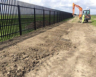 Next Generation high security palisade fencing
