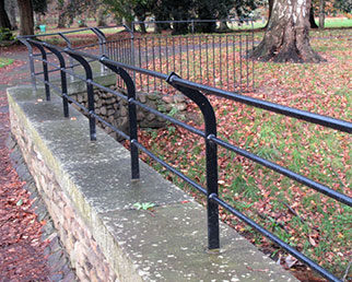 Estate railings and barriers in Cardiff